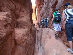 gjhikes.com: Arches NP Fiery Furnace