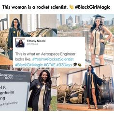 She is a Rocket Scientist