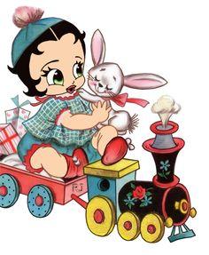 Betty Boop Trein
