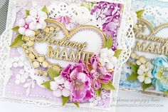 Male fantazje Oli: Kartki na Dzień Mamy / Cards for Mother's day