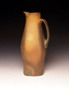 Pitcher 19 by Tom Jaszczak, wood-fired porcelain with exterior slip