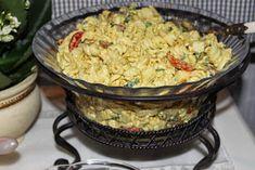 Kanapeet: Broileri-pastasalaatti Street Food, Wine Recipes, Finger Foods, Potato Salad, Grains, Rice, Potatoes, Ethnic Recipes, Party