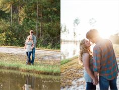 Morning engagement session | Lake engagement session | Valdosta Photographer | Captured by Colson Photography