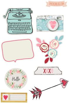 Free download - Planner stickers printable
