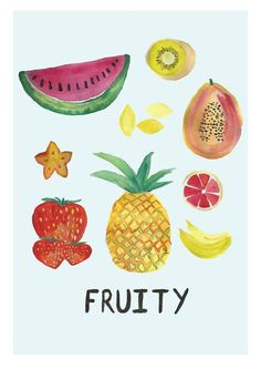 Fruity - Laura Gee Illustration