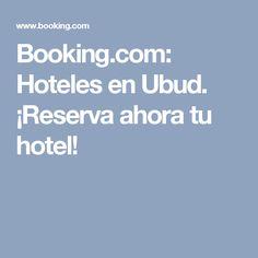 Booking.com:  Hoteles en Ubud.  ¡Reserva ahora tu hotel!