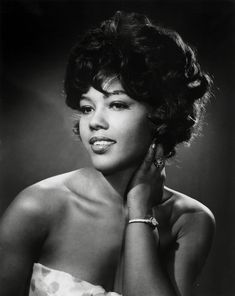 Singer and actress Ja'net Dubois (Willona from Good Times.)