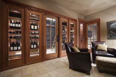 Wine Cellar - traditional - wine cellar - philadelphia - Superior Woodcraft, Inc.