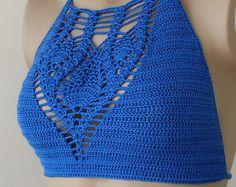 EXPRESS CARGO White Crochet Bikini-Bustier Women by formalhouse