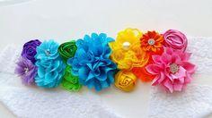 Conjunto faja maternidad de arco iris primavera faja