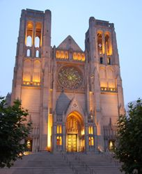 Grace Cathedral / Photo: Barry Ferg