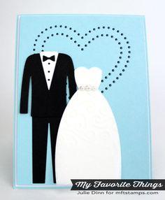 MFT Bride & Groom, Peek a Boo Hearts