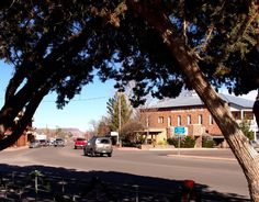 Picture of downtown Fort Davis, Texas
