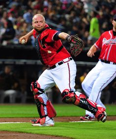 Brian McCann---oh how I'm going to miss this man! I will always root for him just not the team he's on!