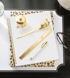 We're excited to introduce to you our latest line of desk décor, a collection of solid brass desk accessories. Make your desk timelessly chic with our new snail