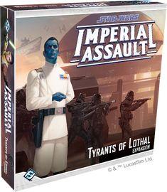 Star Wars: Imperial Assault Tyrants of Lothal Expansion Announced | | DisKingdom.com | Disney | Marvel | Star Wars - Merchandise News