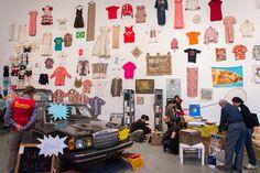 Martha Rosler 'Garage Sale'    http://www.nytimes.com/slideshow/2012/11/17/arts/artsspecial/20121117GARAGE-3.html