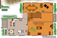 "Fanpage ""That 70s Show"" shows the Foremen's House, here the ground floor"