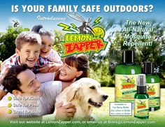 Natural Mosquito Repellent finally is here without all the oil, great stuff for kids, pets, women and men with no DEET. Spray Lotion and a Butter