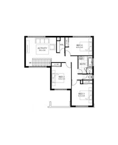 Wedgewood upper floorplan