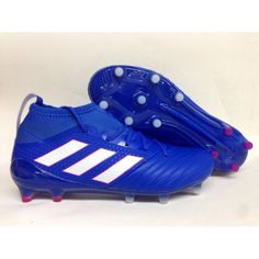 best sneakers eb6fc 11038 Barato Adidas Ace 17.1 Primeknit FG Leather Azul Botas De Futbol