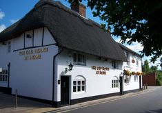The Old House At Home Romsey | Romsey Pub & Restaurant Home Pub, Hampshire England, Thatched Roof, Old World Charm, Places To Eat, Trip Advisor, Old Things, Restaurant, Cabin