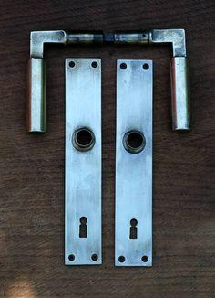 Bauhaus door handles by Walter Gropius and Adolf Meyer, 1922