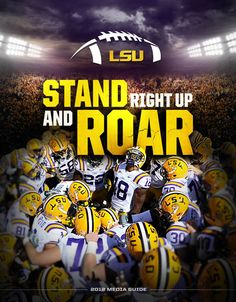 2012 LSU Football Media Guide. Read online lsul.su/OzSXEM #LSUROAR