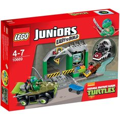 10669 Lego Juniors Turtles Lair