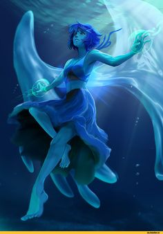 SU art,Steven universe,фэндомы,Lapis Lazuli,SU Персонажи,rubendevela,ruben de vela