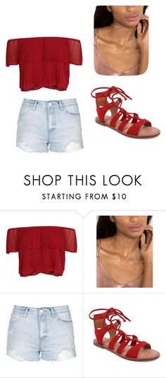"""""""Untitled #1519"""" by alessiaaaaaaaaa ❤ liked on Polyvore featuring Keepsake the Label, ASOS, Topshop and Dolce Vita"""