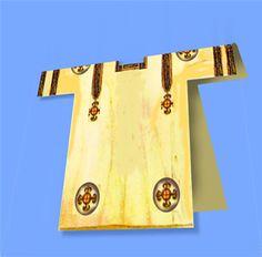 Segmentae: circular images  Clavi: square long  images    Both on a tunic