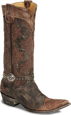 Old Gringo Inese Harness Cowgirl Boots  $599.99 A girl can dream :0) my momma always told me I had expensive taste!