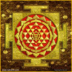 Sri Lakshmi Yantra Canvas Print / Canvas Art by Lila Shravani Canvas Art, Canvas Prints, Framed Prints, Art Prints, Shri Yantra, Lakshmi Images, Tanjore Painting, Krishna Painting, Hindu Art