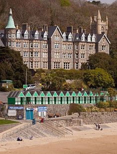 Home for Langland Bay Manor & Beach Huts ~ Gower, Wales Swansea Bay, Swansea Wales, Wales Uk, South Wales, Beautiful Places To Visit, Places To See, Welsh Castles, Gower Peninsula, Cornwall Coast