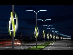 Eco shocker: Turbine Light concept uses wind to light highways Ingenious, eco-friendly concepts are all around us. The Turbine Light concept harnesses the power of the wind from cars rushing past to light up the ever-darkening roadways. Green Technology, Futuristic Technology, Cool Technology, Futuristic City, Technology Design, Renewable Energy, Solar Energy, Renewable Sources, Solar Power