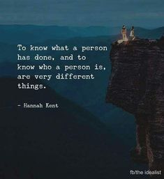 To know what a person has done.. via (https://ift.tt/2xiTb6A)