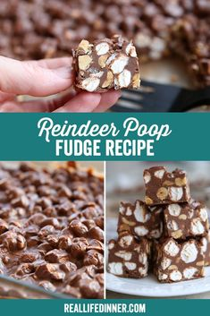 A fun, unique fudge recipe that combines all the flavors you love. The peanuts add a salty crunch that complements the scotcheroo flavor of the chocolate, and the marshmallows add just the right bite to make the texture of this fudge just perfect. Classic Christmas Cookie Recipe, Best Christmas Recipes, Christmas Treats, Christmas Goodies, Fudge Recipes, Candy Recipes, Baking Recipes, Dessert Recipes, Desserts