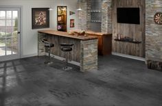 Rustic style reflects nature, cultures and traditions. It is a relaxed and comfortable look that can easily employ design elements such as floral patterns, stripes and plaids. The natural characteristics of wood and stone especially highlight the beauty of rustic style.