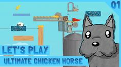 Let's Play Ultimate Chicken Horse #01 - With Friends - ScottDogGaming HD  http://youtu.be/bF31AWNMfQw Let's Play Ultimate Chicken Horse - With Friends - ScottDogGaming HD Ultimate chicken Horse is a platformer multiplayer game where you place platforms and obstacles on the level to help/hinder each other! THE ENGLISH GAMER https://www.youtube.com/channel/UCU09IlBObPDajFRc9rHilqQ SIRNIGHTOWL https://www.youtube.com/channel/UCJo8dwBya9Z12eamm1OFE6w Welcome to the Doghouse! SUBSCRIBE…