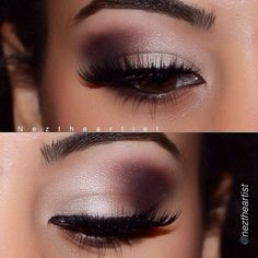 Love these tones of shadows by @motivescosmetics.