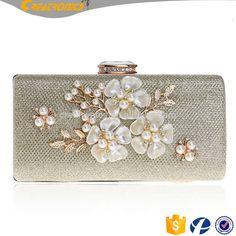 SEKUSA Shell Flower Women Evening Bag Sequined Diamonds Small Party Wedding  Handbags For 2017 Female Clutch Purse Bags daa49a566c1a