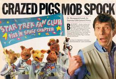 "Spock's Interview In ""Muppet Magazine"" Is The Pinnacle Of American Journalism"