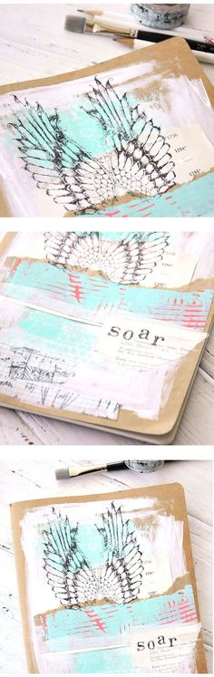 Soar away with this lofty journal project -a perfect way to collect summer memories and turn them into a beloved keepsake.