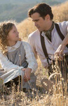 Colin Farrell and Annie Rose Buckley in 'Saving Mr. Banks' (2013). Costume Designer: Daniel Orlandi