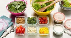 How To Stock Your Own Salad Bar - Transform the inside of your fridge into your very own salad bar, stocking an assortment of crisp veggies, sweet fruits, savory dressings and other ingredients.