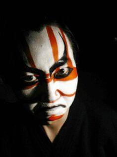 Kabuki (歌舞伎 kabuki) is a classical Japanese dance-drama. Kabuki theatre is known for the stylization of its drama and for the elaborate make-up worn by some of its performers.