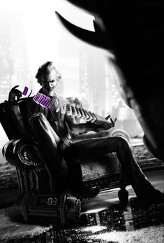 Joker - Pictures & Characters Art - Batman: Arkham City