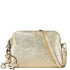 2b2ef00e2fc4 Tory Burch Crossbody Bag Leather Peace Love  handbag  shoulderbag  gold   HibiscusFlower
