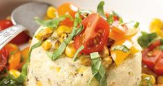 Sweet Corn and Parmesan Flan |
